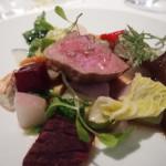 豚肩ロースと京野菜